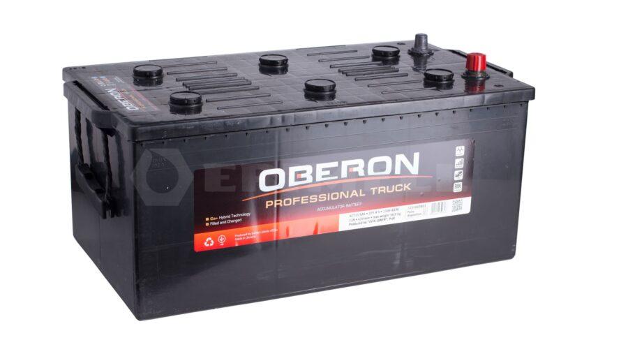 Väga võimas Oberon Professional Truck seeria autoaku võimsusega 225Ah. Sellise aku kaal on 56 kg.